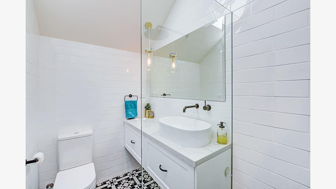 Hamptons Bathroom Design Marrickville NSW