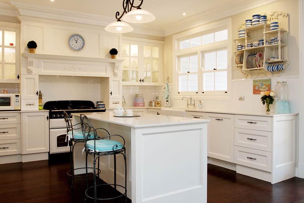 Hamptons Kitchen Design Caringbah South