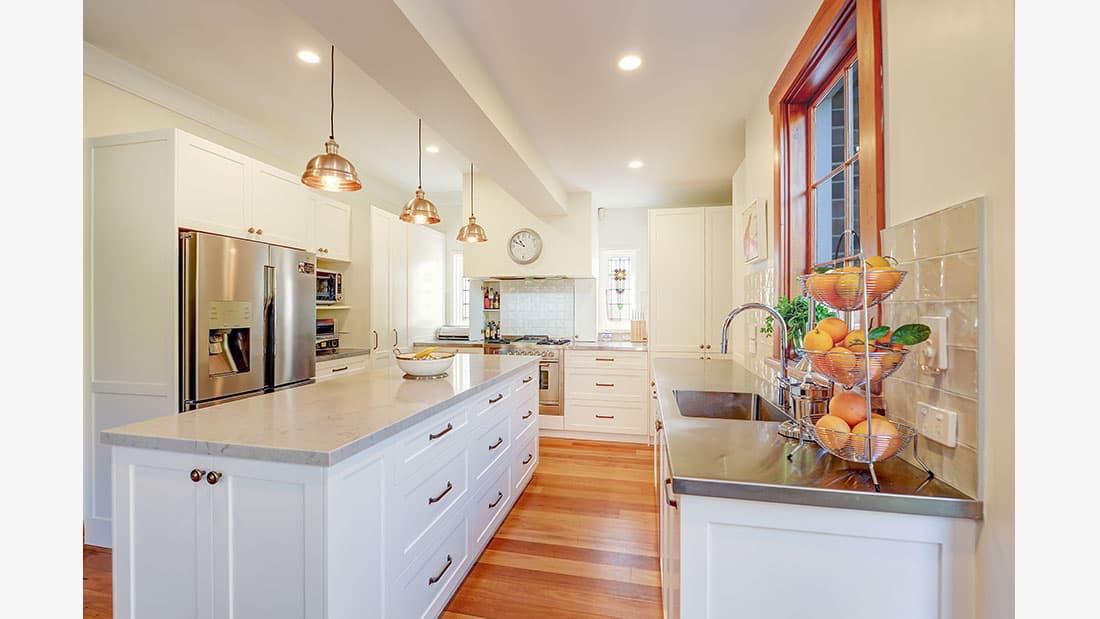 Hamptons Kitchen Design Kingsford NSW