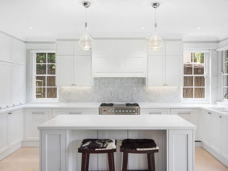 Hamptons Kitchen Design Mosman NSW