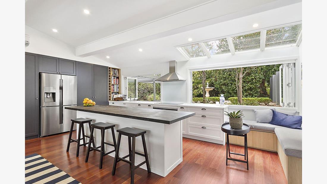 Hamptons Kitchen Design North Turramurra NSW